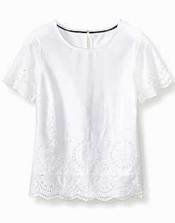 Fairlie Broderie Top