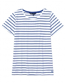 Breton T-Shirt In Ultramarine Blue