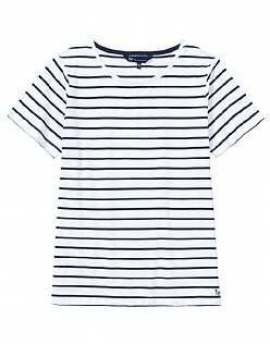 Breton T-Shirt In White