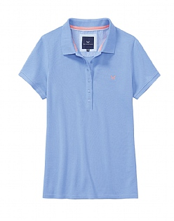 Classic Polo Shirt In Bluebell Blue