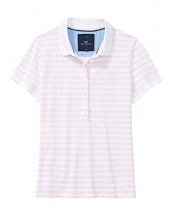 Classic Polo Shirt In Classic Pink