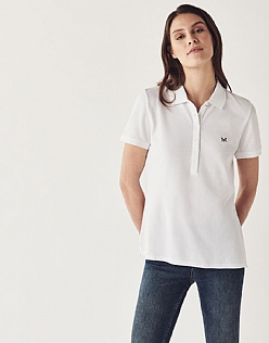 Classic Polo Shirt In Optic White