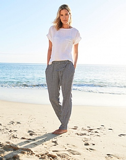 Beach Trouser In Navy