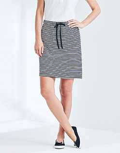 Polo Jersey Skirt In Navy