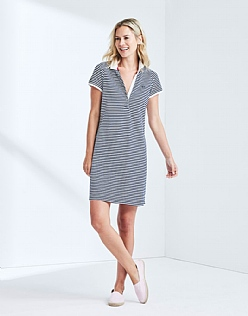 Polo Dress In Navy