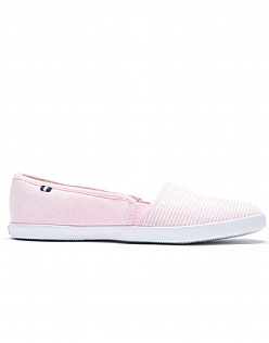 Lucy Canvas Flats in Pink