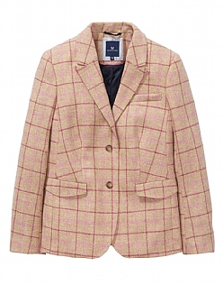 Grasmere Wool Blazer in Neutral