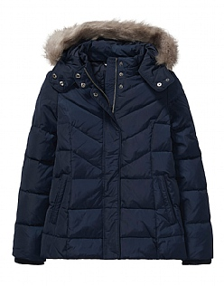 Down Jacket in Dark Navy
