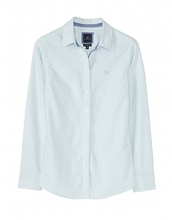 Classic Fit Oxford Shirt  in Glass Blue