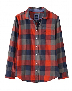 Weekend Flannel Shirt in Navy
