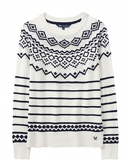 Fairisle Jumper in Navy