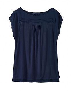 Safia Top in Dark Navy