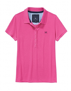 Classic Polo Shirt in Orchid Pink