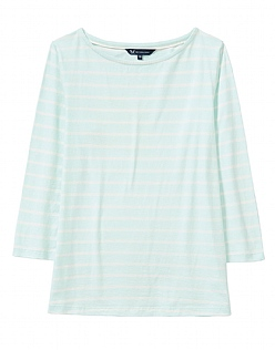 Essential Breton T-Shirt in Glass Blue