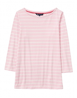 Essential Breton T-Shirt in Pink