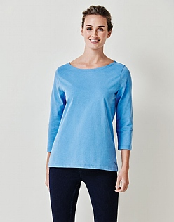 Cassie T-Shirt in Light Indigo