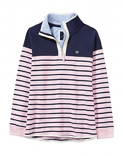 Half Zip Sweatshirt in Navy