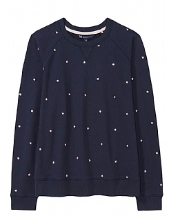 Star Sweatshirt in Heritage Navy