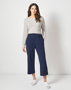 Jersey Trousers in Navy
