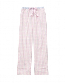Flannel Pyjama Bottom in Pink Check
