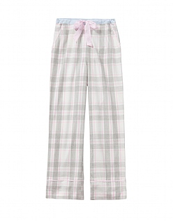 Flannel Pyjama Bottom in Grey Check