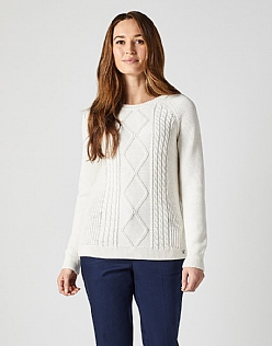 Raglan Cable Jumper