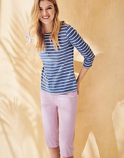 Essential Breton T-Shirt in Amparo Blue