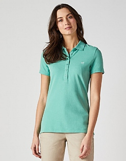 Classic Polo Shirt in Spring Green