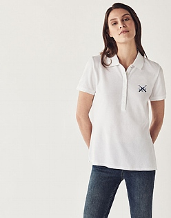 Embroidered Cricket Polo Shirt