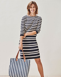 Milano Knitted Stripe Dress