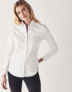 Oxford Classic Shirt In Optic White